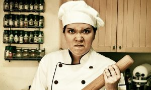 You don't need a temper tyrant in your kitchen