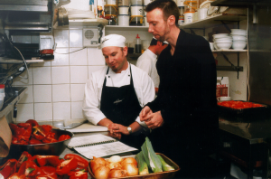 Chef and Manager