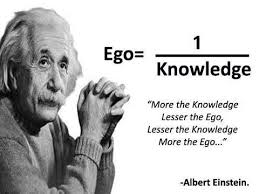 Ego can be a problem