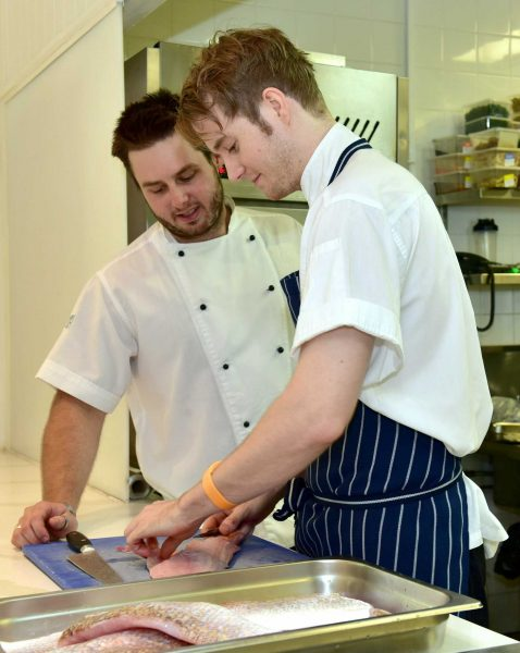 Future head chefs need to be carefully trained